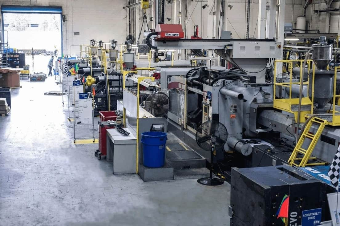 A shop for low volume injection molding