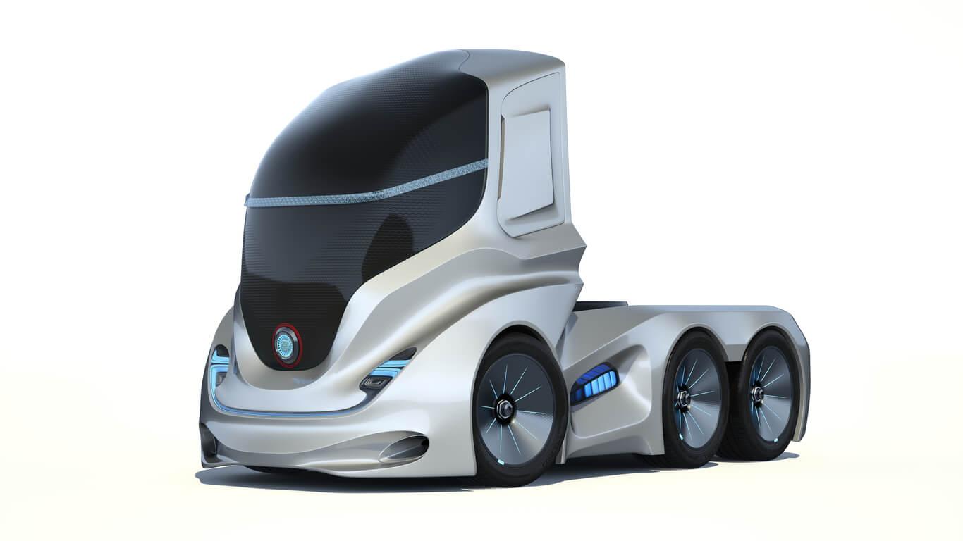 autonomous semi-truck concept