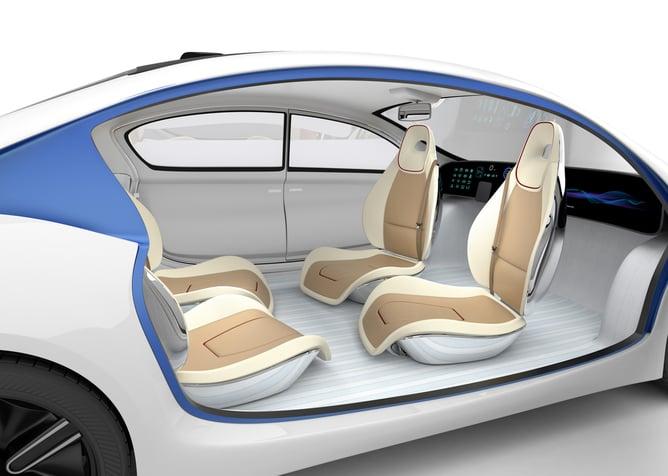 autonomous vehicle interior seating