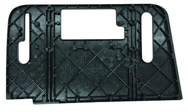 A compression molding piece