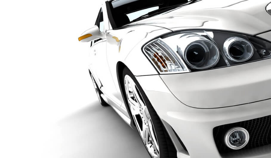 The exterior of a high end vehicle made by automotive manufacturing services