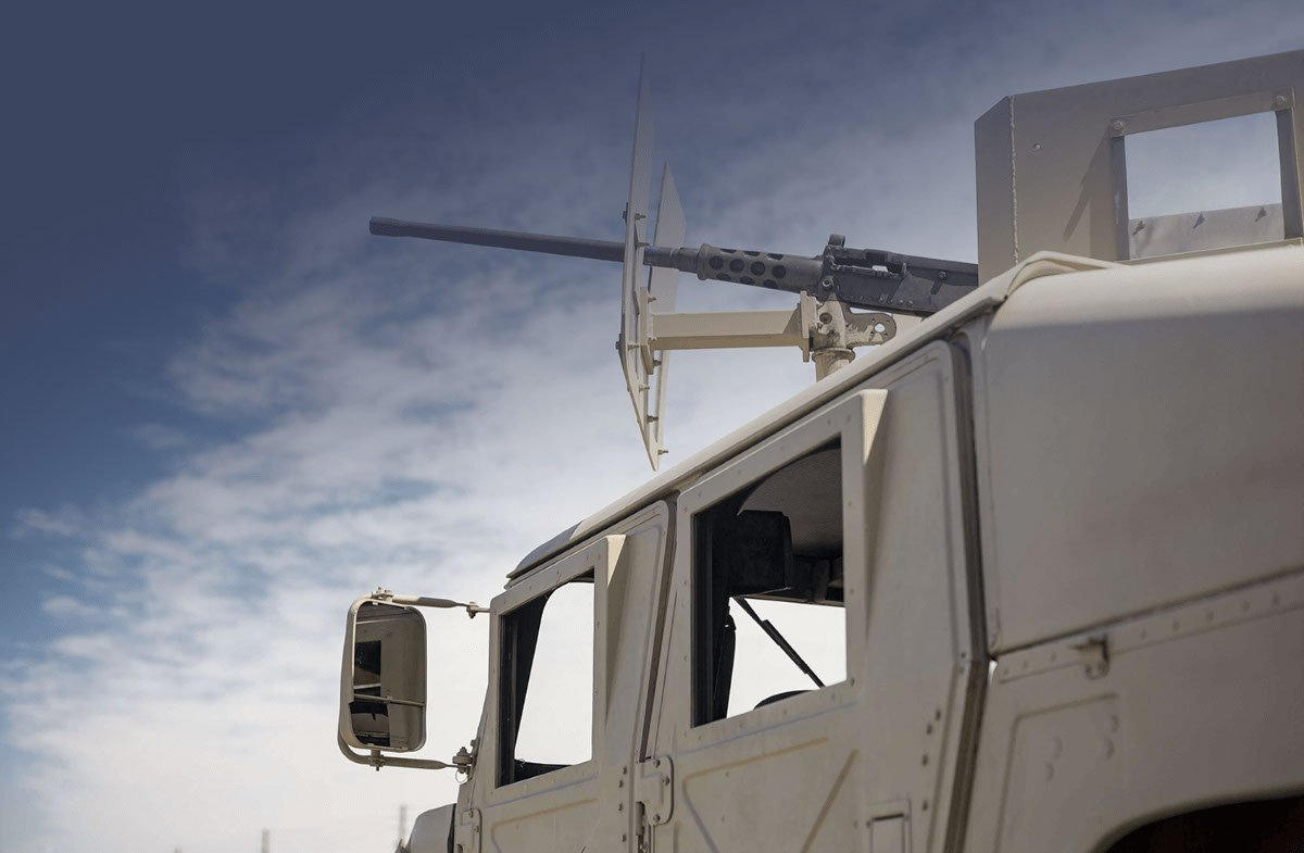 Lightweight defense vehicle made by RCO Engineering's defense manufacturing services