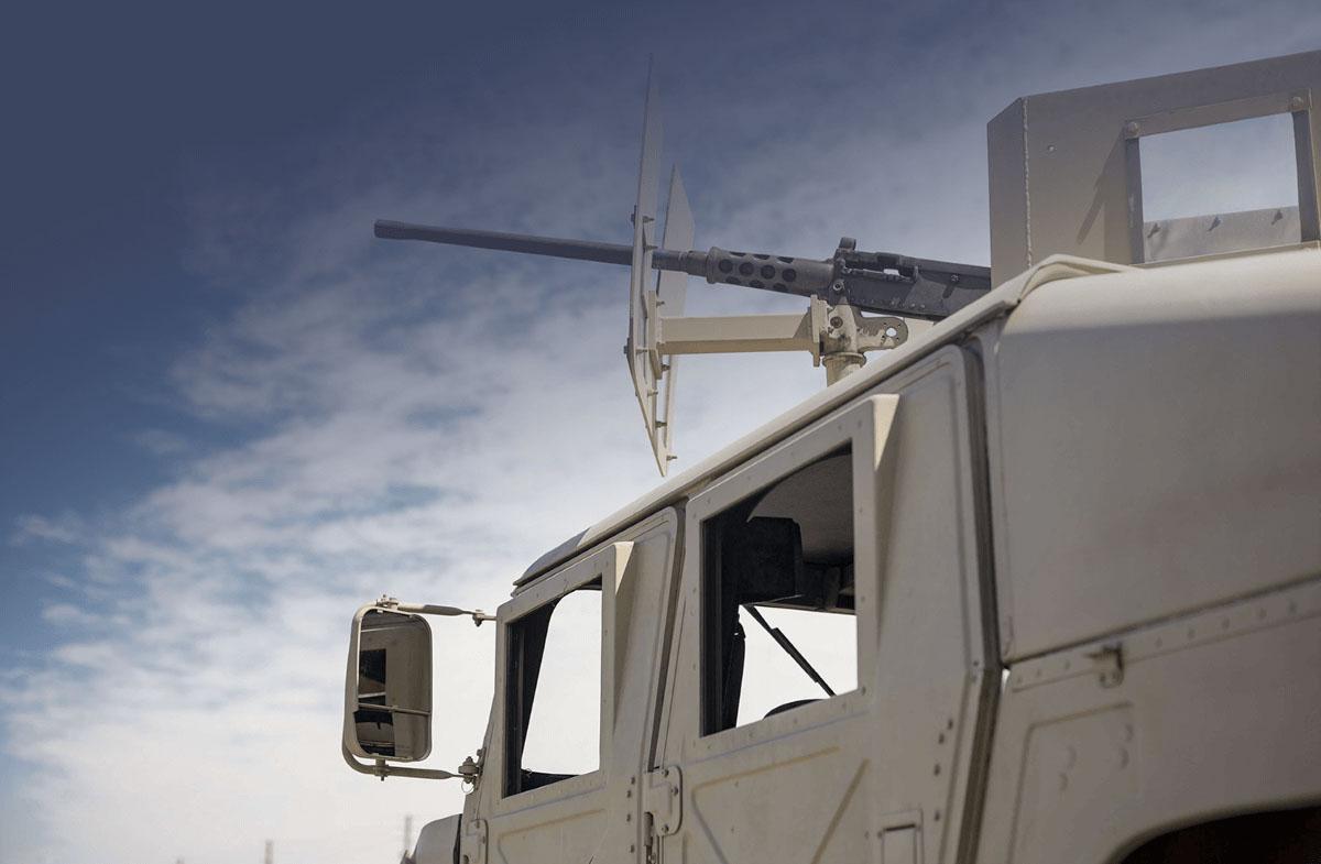lightweight defense vehicle
