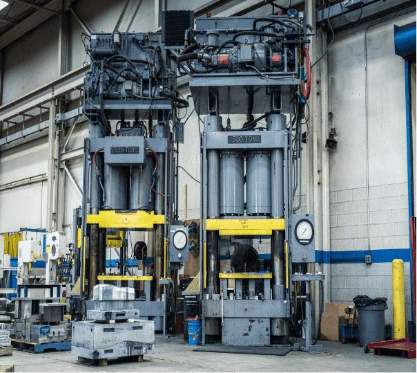 metal stamping press