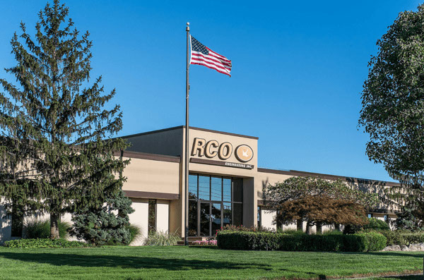 RCO's headquarters in Roseville, Michigan pictures on a beautiful summer day.