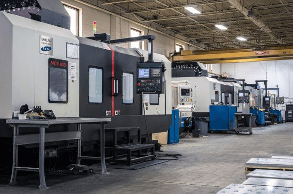 A tooling shop for prototype tooling