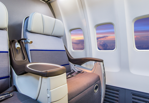 aerospace business jet seat